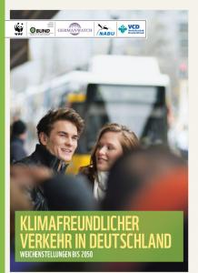 Studie Klimafreundlicher Verkehr - Titel