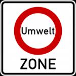 Umweltzone-Schild
