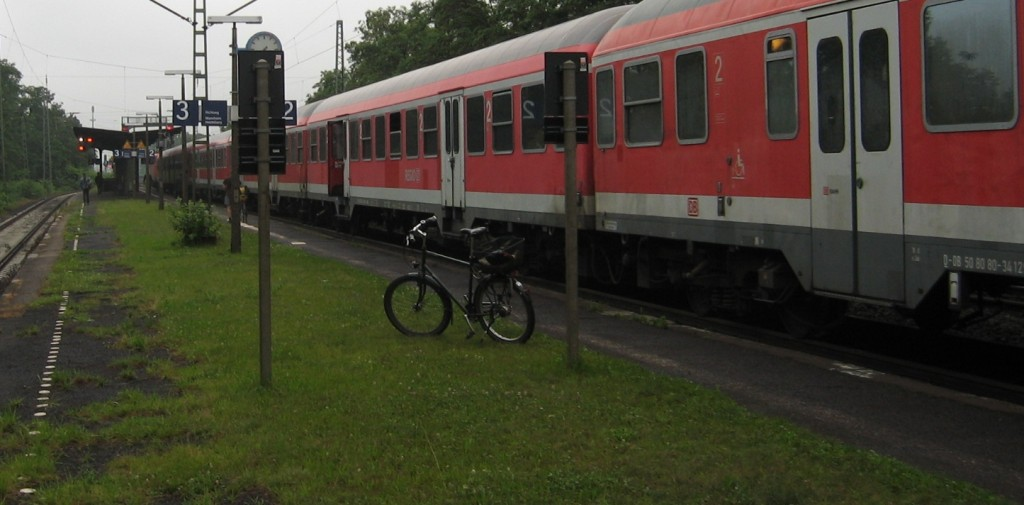Eberstadt Bf - Zughöhe - 2009-07-09